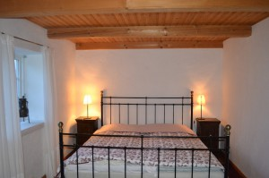 Sängen i sovrummet
