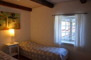 Det lilla sovrummet med två bäddar