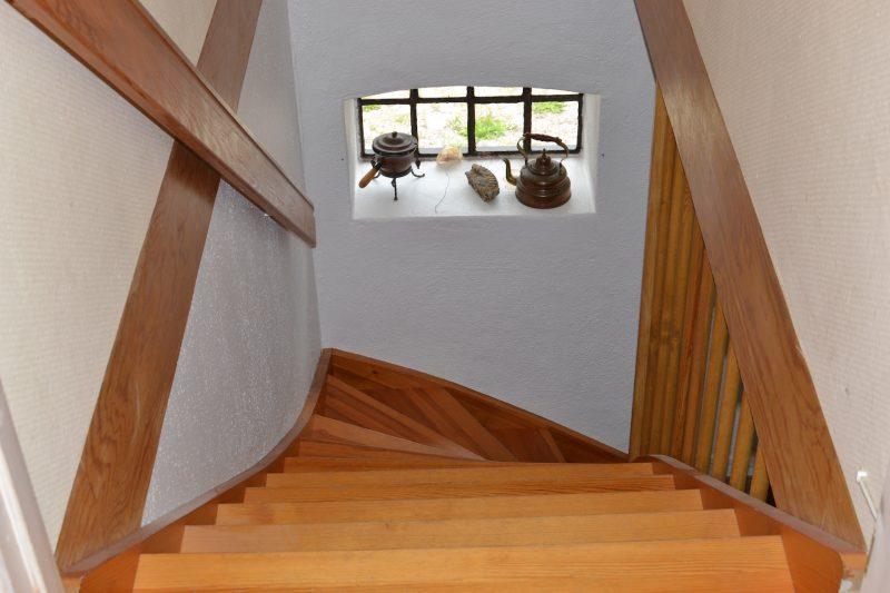 trappa i lägenhet 1