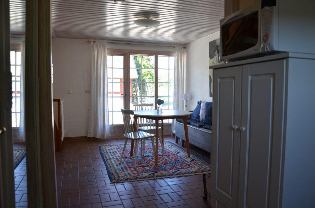 vy från köket lägenhet 1