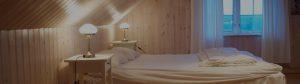 sovrum i lägenhet 3